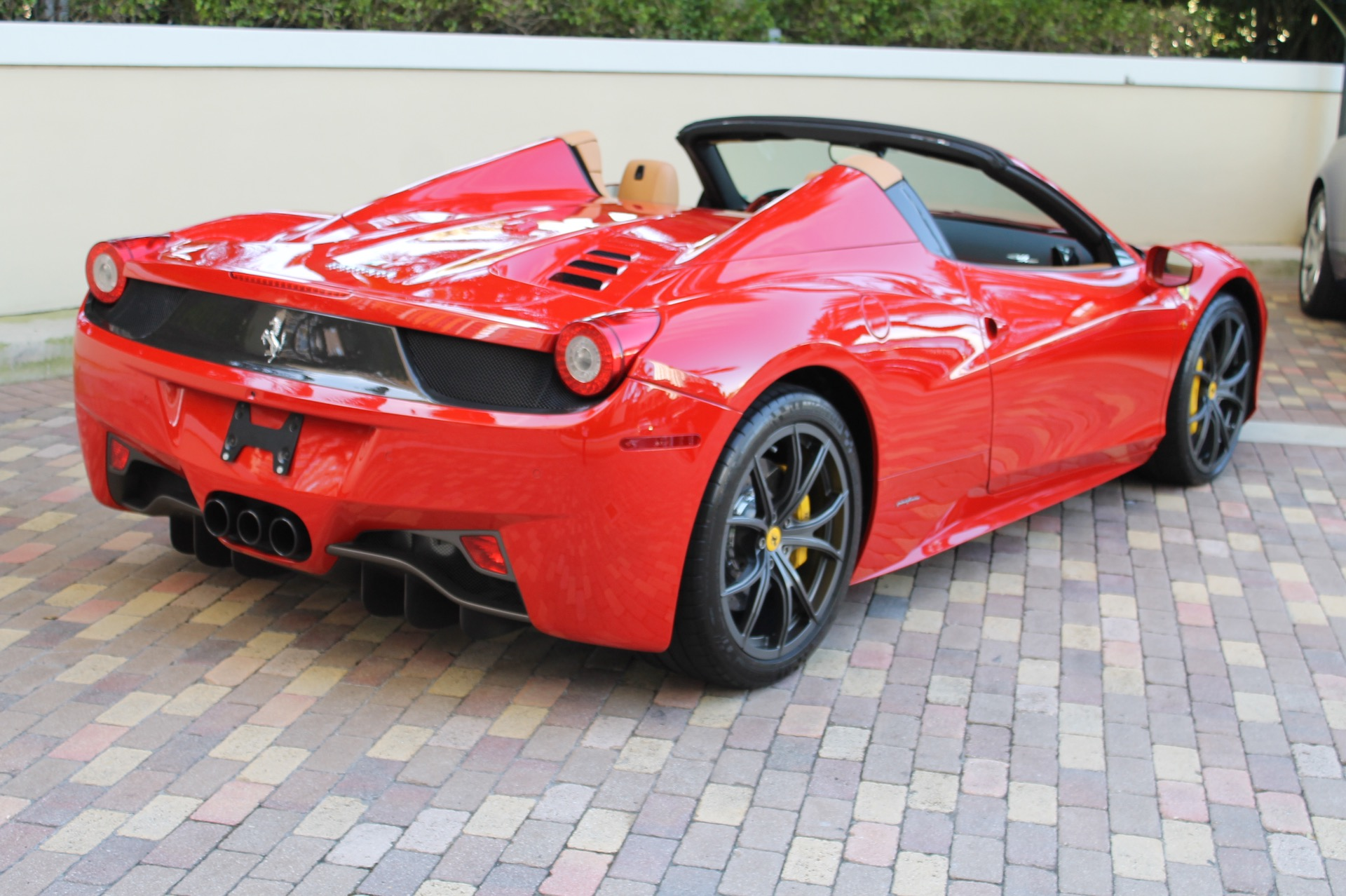 Used Ferrari 458 >> 2014 Ferrari 458 Spider 4,316 Miles Red Convertible - Used Ferrari 458 for sale in Brooklyn, New ...